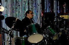 Matt Grover, drums.