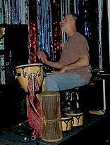 Michael Mironov, percussion.