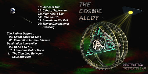 The Cosmic Alloy CD cover