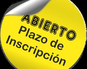 Plazo de Inscripción 2019-2020
