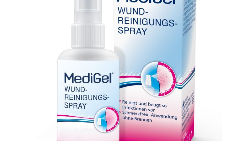 Medigel Wundreinigungsspray 50ml