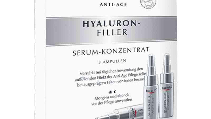 Eucerin Anti Age Hyaluron Filler Serum-Konzentrat 3 Ampullen