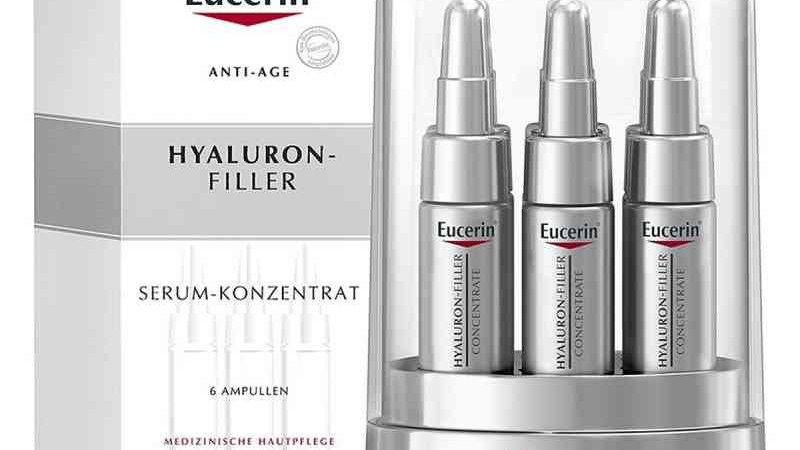 Eucerin Anti Age Hyaluron Filler Serum-Konzentrat 6 Ampullen