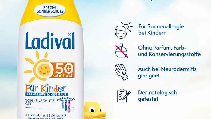 Ladival allergische Haut 50+ für Kinder 200ml