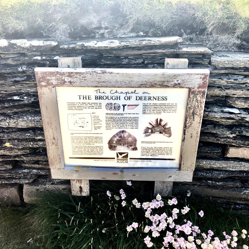 Brough information sign