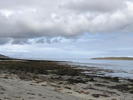 Aikerness (Evie) Beach