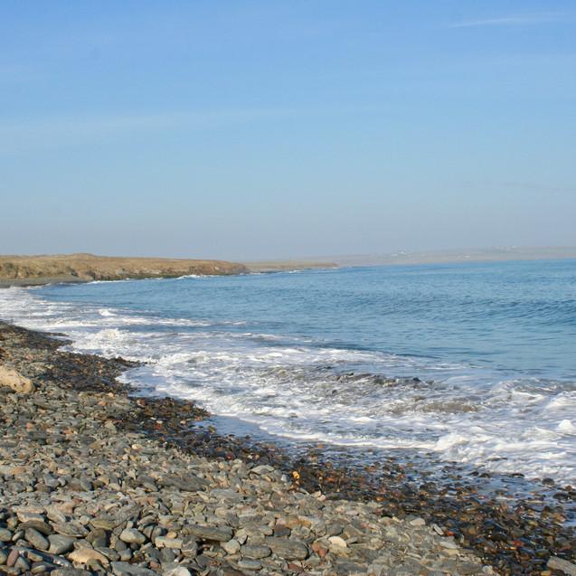 Evie beach on the West Mainland