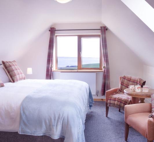 St Ola Suite super king bedroom