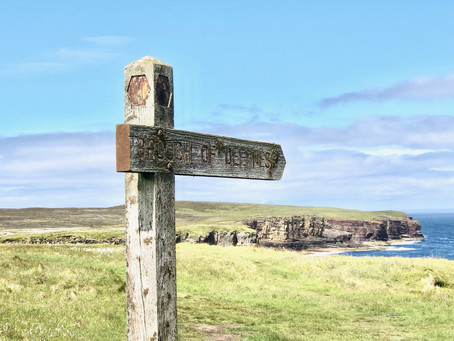 Exploring the Brough of Deerness