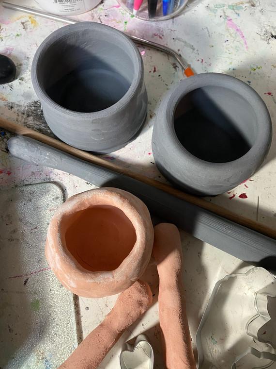Bowls and pestles