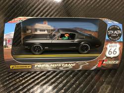 P064 Mustang GT STEALTH - Black
