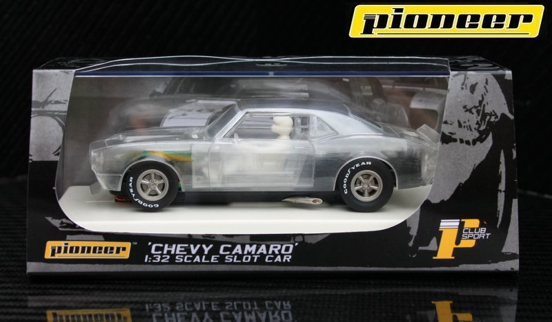 P020 Chevy Camaro Clear X-Ray