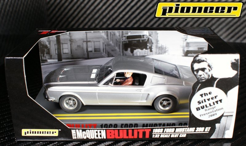 P002 Silver BULLITT Mustang GT 390