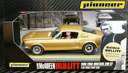 P021 GOLDEN BULLITT Mustang GT 390