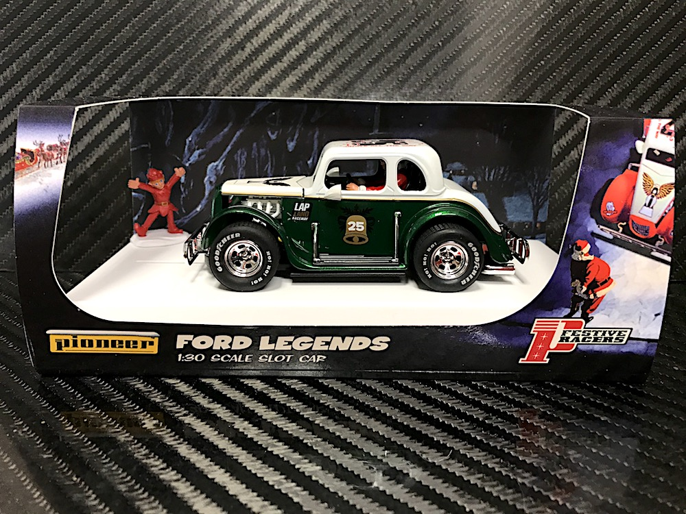 P119 Santa Legends Racer, '34 Ford Coupe, Green/White