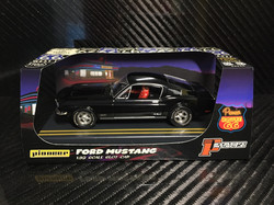 P056 Jet Black 'Route 66' Mustang