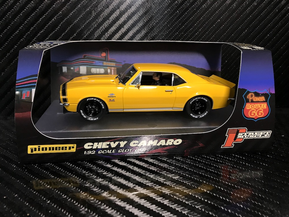 P100 Chevy Camaro Yenko SS427 Yellow 'Route 66'