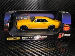P100 Chevy Camaro Yenko SS427 Yellow 'Route 66'