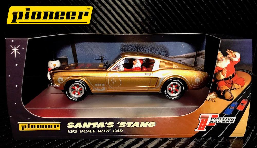 P038 'Santa's 'Stang' (Gold)