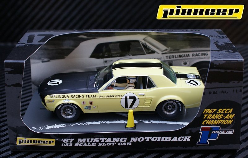 P009 '67 Trans-Am Mustang Notchback