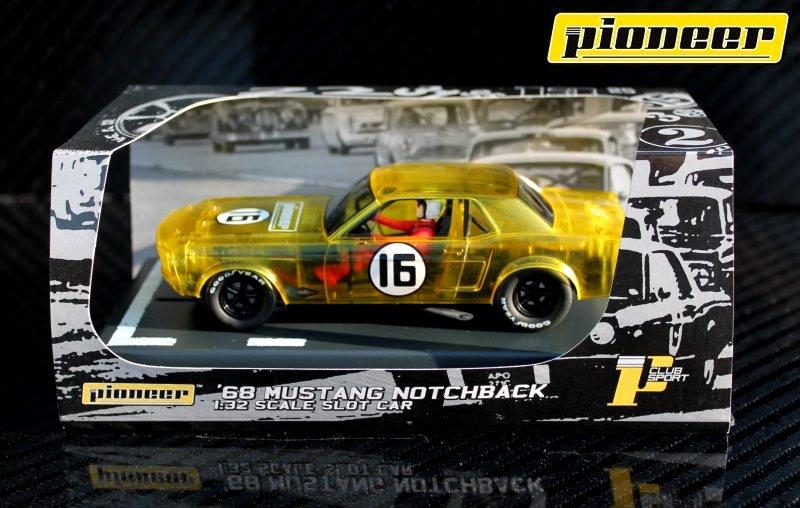 P046 Mustang Notchback, X-Racer #16