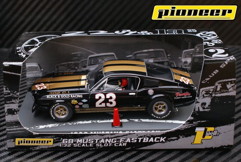 P004 '68 Mustang Fastback #23