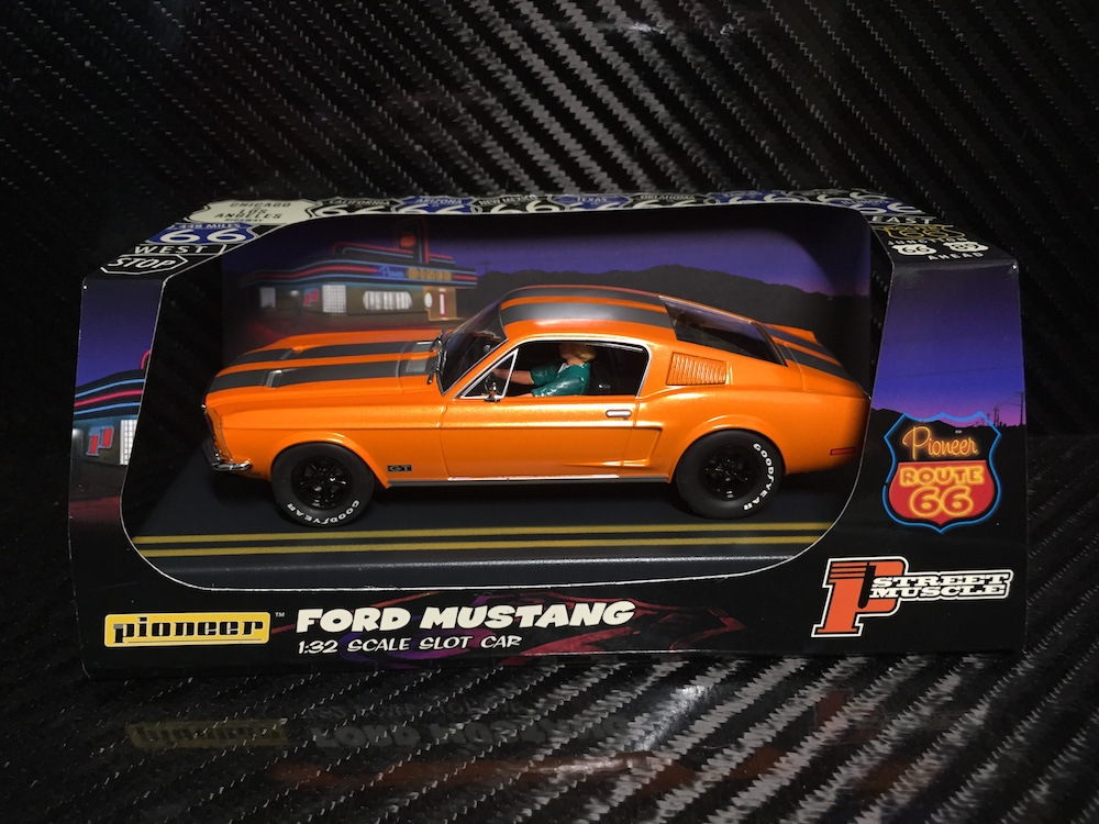 P054 Solar Orange 'Route 66' Mustang