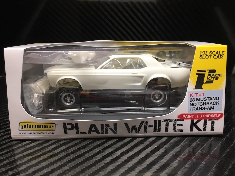 PWK#1 Mustang Plain White Kit
