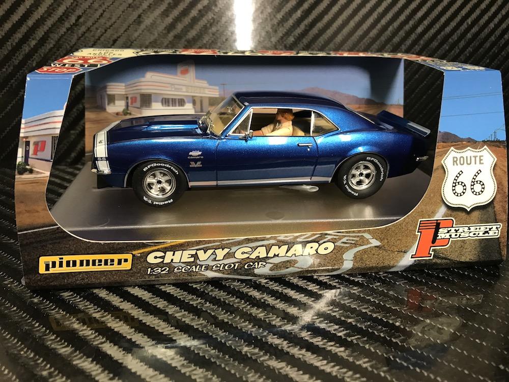 P101 Chevy Camaro Yenko SS427 Blue 'Route 66'