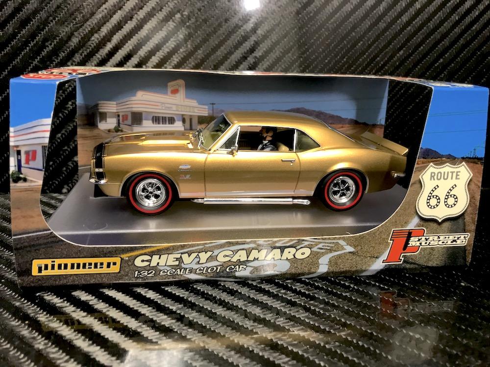 P106 Chevy Camaro Yenko SS427 Gold 'Route 66'
