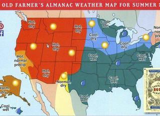 Farmer's Almanac Predictions