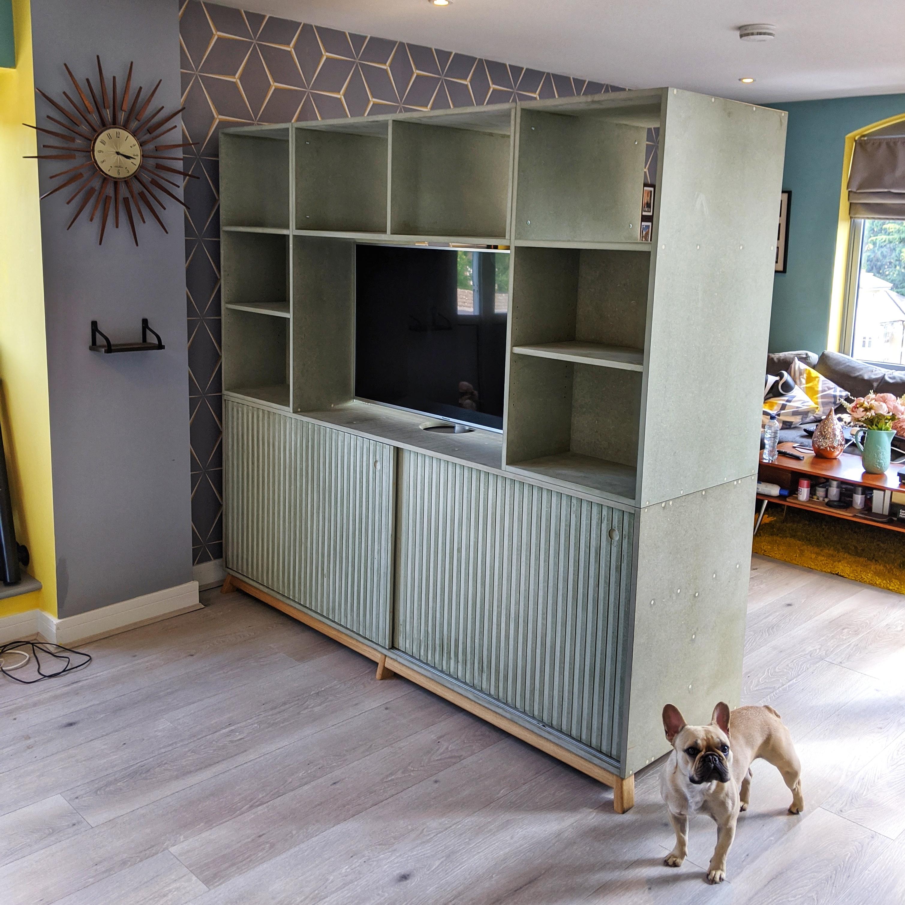 Room divider_TV cabinet
