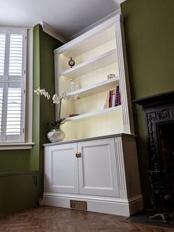 Vistorian Alcove cabinets