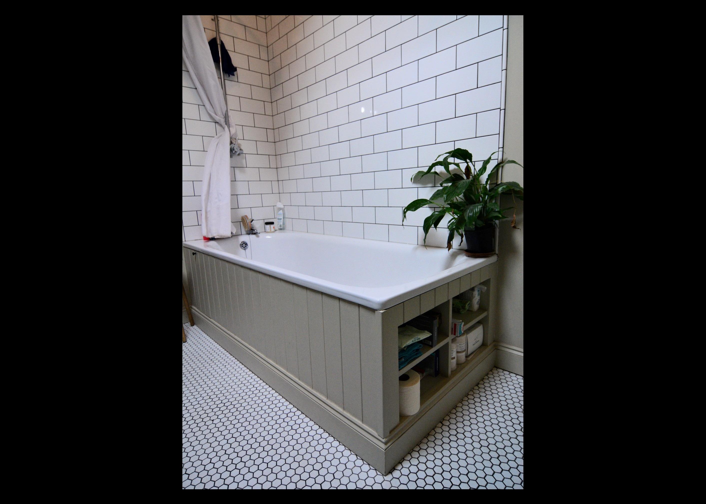Bath surround with storage