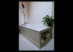 Bath surround with storage