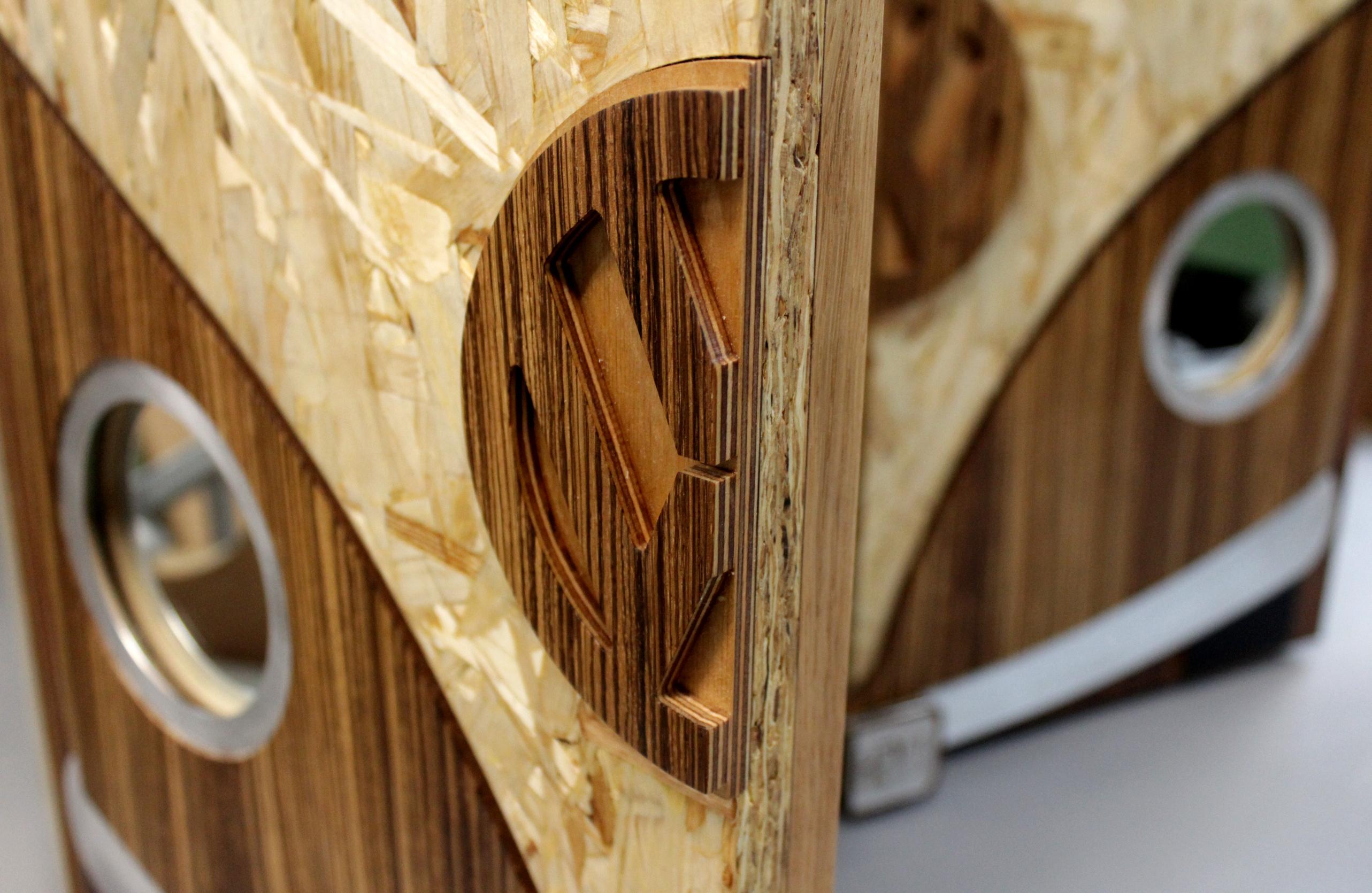Volkswagon camper cupboard detail