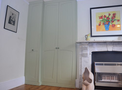 Organic fitted cupboards