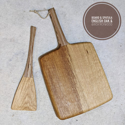 Birch Plywood and Oak kitchenware