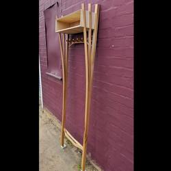 Elm Steam bent coat rack