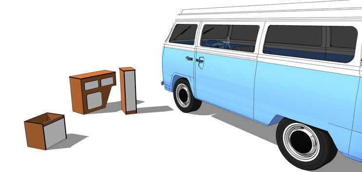 Late Bay camper furniture