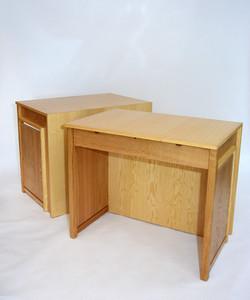 Reading room desks