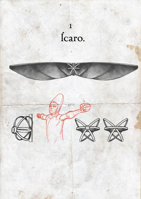 Icarus designs.