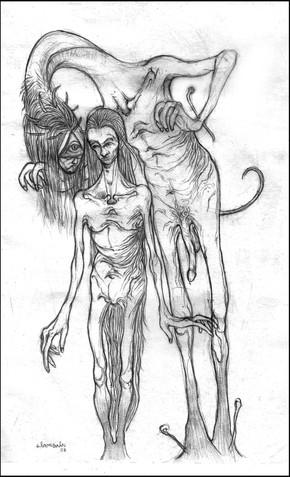 Super old penciled doodle. 2008.