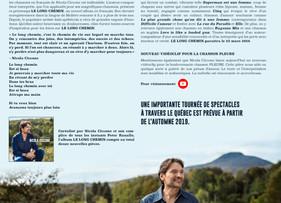 Communiqué Nouvel Album Le Long Chemin