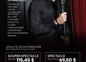 En spectacle au Cabaret du Casino de Montréal