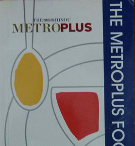 The Metro Plus Food Guide Chennai 2006-0