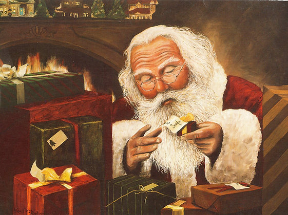 To Santa - Small Print (11X14)