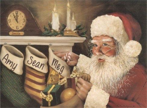 Caught Ya Santa - Small Print (11X14)