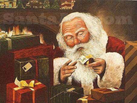 Large To Santa - Large Print (18X24)