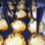 Ratatouille goat cheese mousse & crumble